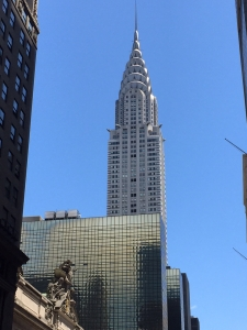 Chrysler Building Writing Inspriation